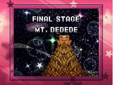 Mt. Dedede