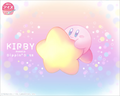Kirby Meets Dippin Dots 25th Anniversary Artwork