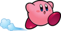 KSSU Kirby running artwork