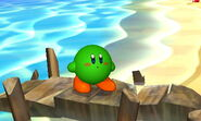 SSB3DS Green Kirby