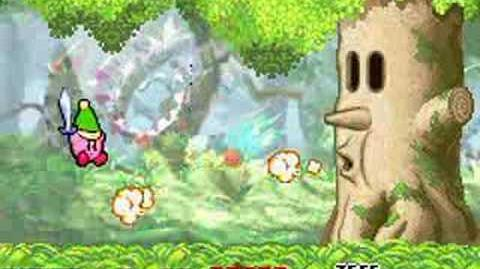 Kirby vs Whispy Woods