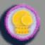 拳击手套徽章01 毛线卡比