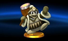 SSB3DS King Dedede (Alt) Trophy