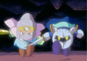 Garlude and Meta Knight
