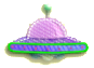 KEY Flying Saucer sprite