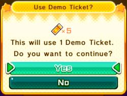 KBR Demo Ticket Infobox