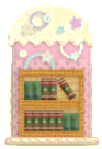 KEY Bookcase sprite