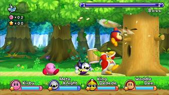 Kirby Wii captura 3