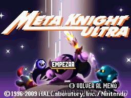 Meta Knight Ultra