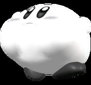 White Kirby Melee