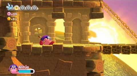 Kirby's Return To Dreamland - Nutty Noon ~ Stage 2 -HD-
