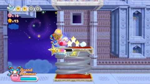 Kirby's Return To Dreamland - Nutty Noon ~ Stage 4 -HD-
