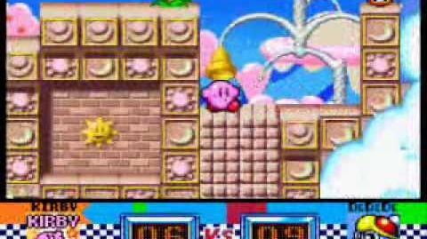 Kirby superstar gourmet race!