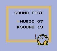 KDL Sound Test