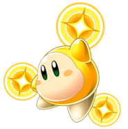 KSqSq Gold Waddle Dee artwork HD