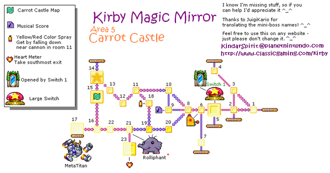 Map Carrot Castle