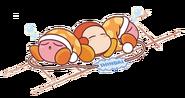 Noddy KirbyPupupuTrain Artwork