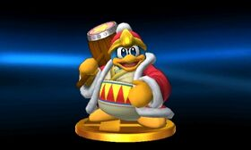 SSB3DS King Dedede Trophy