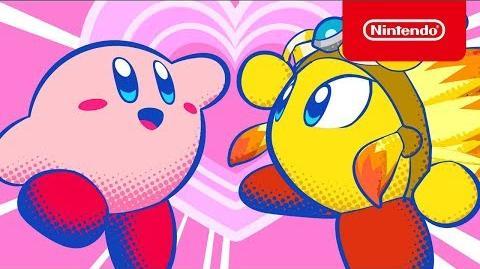 Teaser Kirby Star Allies por San Valentín
