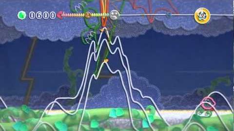 Gameplay - Kirby's Epic Yarn (Dragon Boss)-0