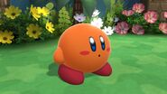 SSBU Orange Kirby