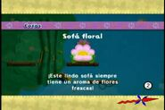 Sofá floral
