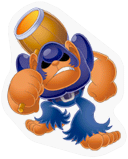 SSBB Bonkers sticker