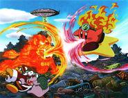 Kirby Fire Lion KirbyShow