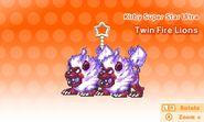 Twin Fire Lions Key