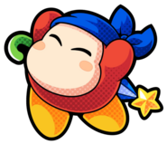 Bandana Waddle Dee artwork KBR