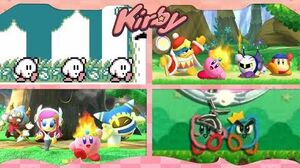 Evolution of Kirby's Victory Dance ᴴᴰ (1992 - 2019) -31 games-