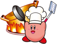 KDCED Artwork Chef Kirby (KSS)