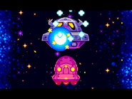 Space Oohroo Spaceship Defeated