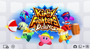 KirbyFightersDeluxeHomeScreen