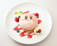 Kirby Cafe food 1