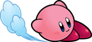 KSSU Kirby slidekicking artwork