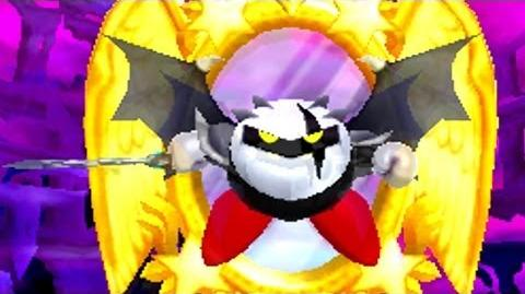 Kirby Triple Deluxe 3DS - Dark Meta Knight's Revenge Boss Battle HD