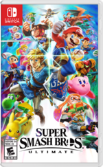 Super Smash Bros. Ultimate US boxart