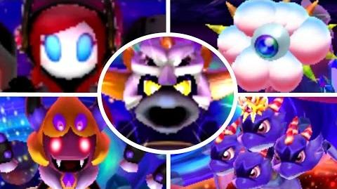 Team Kirby Clash Deluxe - All Boss Battles