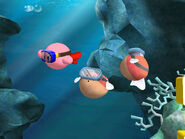 Blipper Kirby Wii
