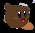 Kirby Marrón Render