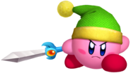Kirby's Return to Dream Land Artwork Kirby Espada