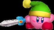 Kirby's Return to Dream Land Artwork Kirby Espada