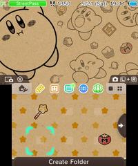 Kirby Craft-Paper Kirby