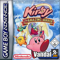 Carátula Kirby and the Amazing Mirror (europea)