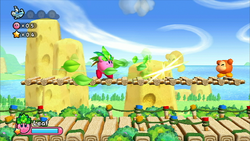 Kirby Wii captura 6