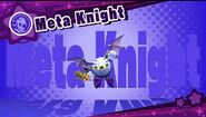 Meta Knight Dream Friend