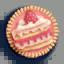 蛋糕徽章01 毛线卡比
