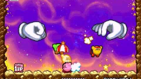 Kirby vs Master Hand y Crazy Hand