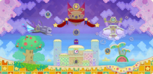 Dream Land Level Map